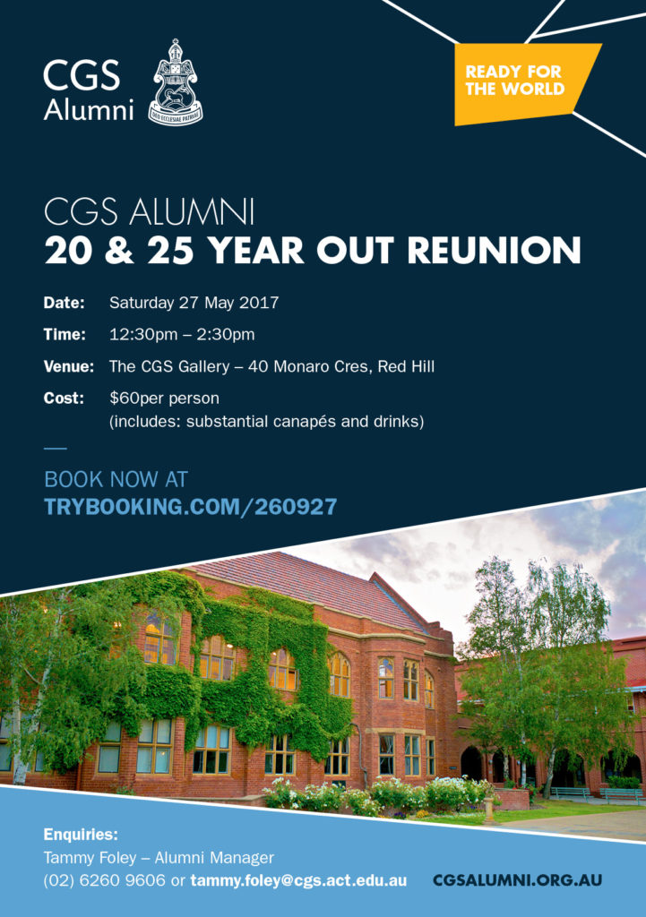 21031 20 & 25 Year Out Reunion Invite FA